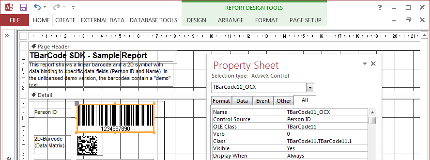 how to create report in ms access 2007 pdf