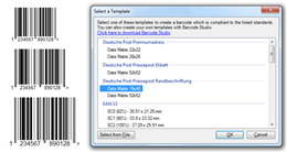 Microsoft Office Barcode Add-In Templates