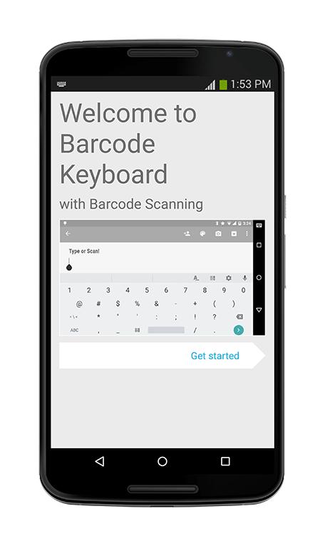 Barcode/NFC Scanner Keyboard User Manual V2: Keyboard with Embedded