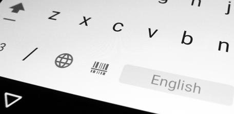 Barcode/NFC Scanner Keyboard User Manual V2: Keyboard with