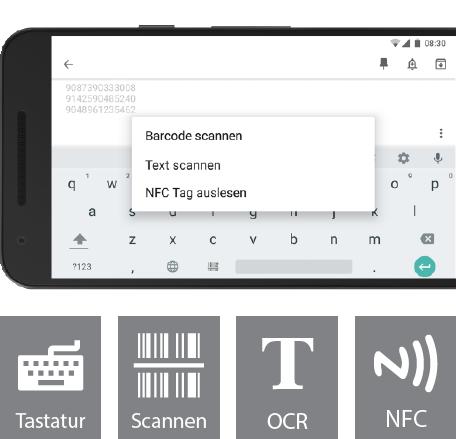 Smarte Apps Für Mobile Datenerfassung Inventuren Und Scannen
