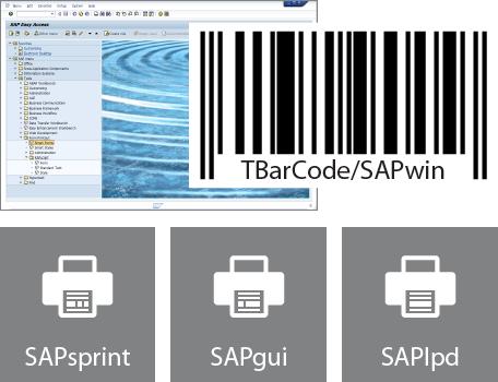 Barcode DLL for SAP ERP, R/3, mySAP, SAPsprint, SAPGUI