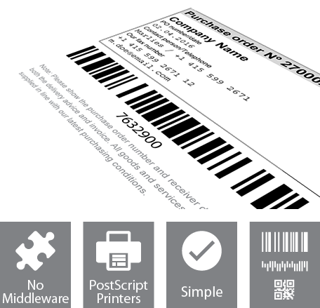 Barcode Software for SAP ERP, R/3, mySAP, ECC, R3 Barcode Printing