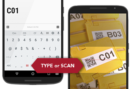 use tecitu0027s keyboard to scan and enter barcodes into any app open the integrated camera barcode scanner with a single tap and the scanned